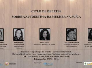Participe do Ciclo de Debates em Homenagem ao Dia Internacional das Mulheres!