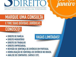 Atendimento Plantão Jurídico Janeiro/21