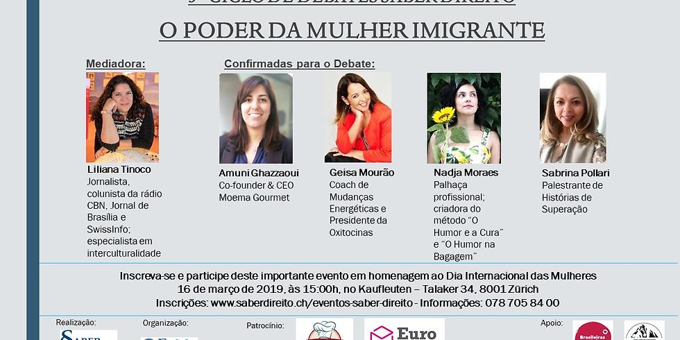 3º Ciclo de Debates Saber Direito - O Poder da Mulher Imigrante