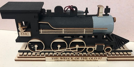 The Wreck of The Old 97 Ornament
