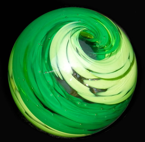 Swirl Glass Marble Med.   35-40mm