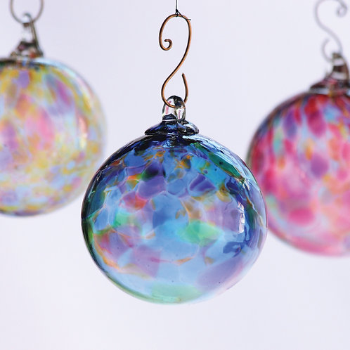 Set of 6 Large Ornaments (Multi-color)
