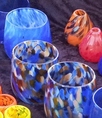 Glass votive / Stemless wine glass