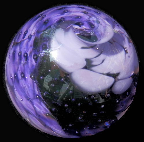 Swirl Glass Marble Small   30-35mm