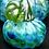 "Thumbnail: Glass Pumpkin 3.5"" Blown"