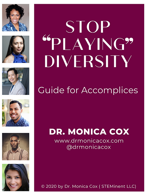 Stop Playing Diversity - Guide for Accomplices
