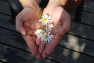 giving-flowers