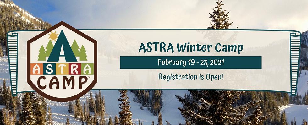ASTRA Winter Camp _ Reg Opens January (1
