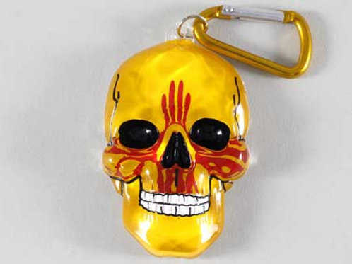 Zia Skull Key Chain