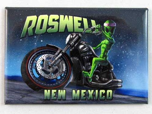Roswell Alien Motorcycle