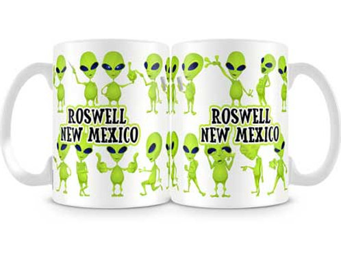 Dancing Aliens- Oversized Mug