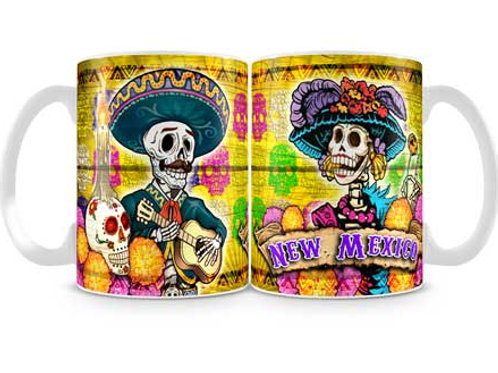 Day of the Dead, New Mexico- Oversized MUG