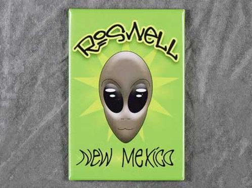 Roswell Alien NM Magnet