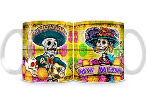 Day Of The Dead MUG- New Mexico