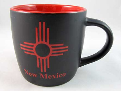 RED/BLK ZIA New Mexico Coffee Mug
