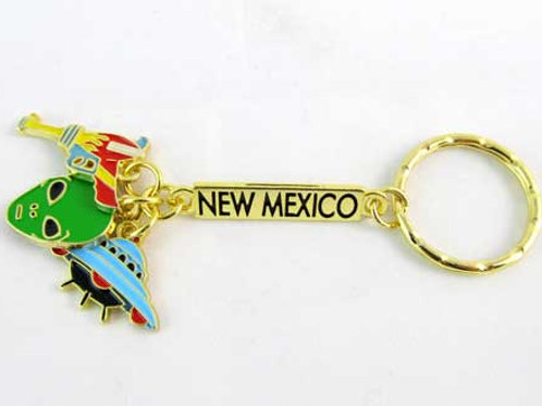 New Mexico Charm Key Chain