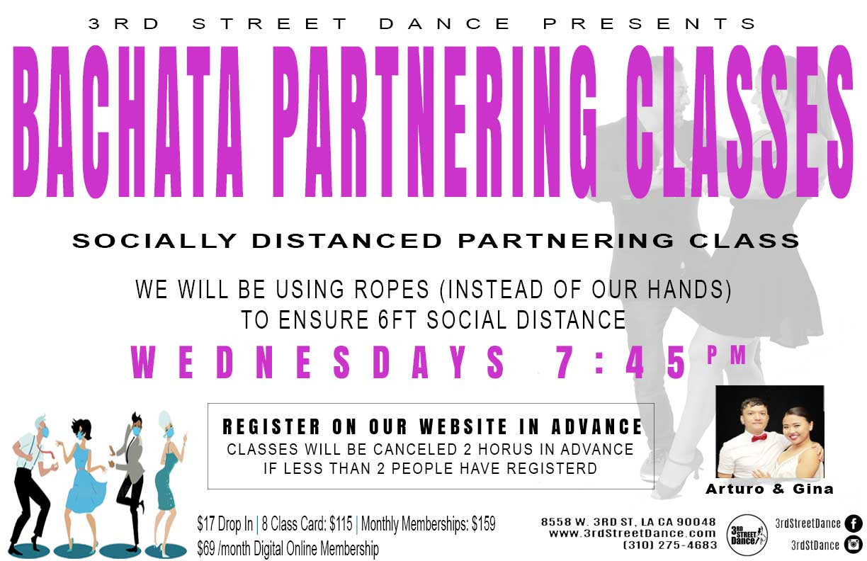 Join us with your partner to learn some new and exciting turn patterns!