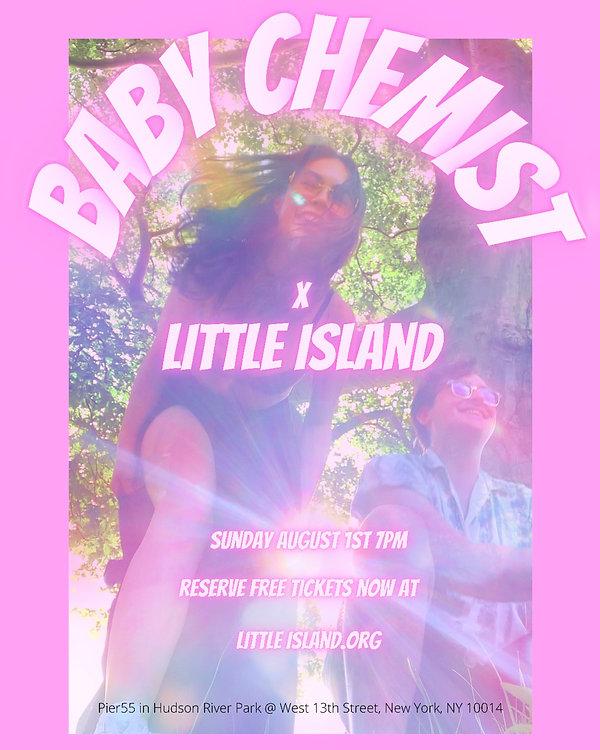 baby chemist little island poster.JPG