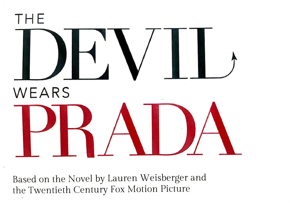 Katie Lee Hill in The Devil Wears Prada the Musical.