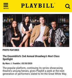 The Ensemblist x Playbill.com