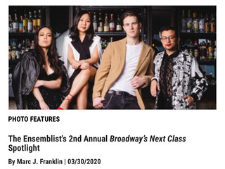 The Ensemblist x Playbill.com