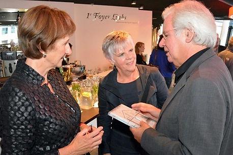 Marijke Hafkamp, Lamkje Jellema en W.M. Kessels