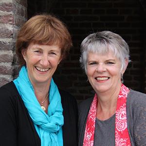 Marijke Hafkamp en Lamkje Jellema