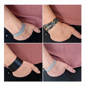 Des chutes de biais = des bracelets