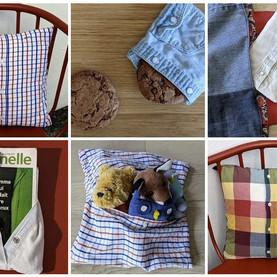 1 vieille chemise = 1 pochette/housse aux 1001 usages