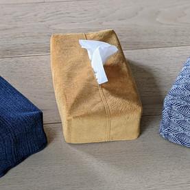 1 pantalon = 1 housse pour boîte à mouchoirs