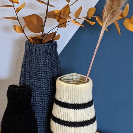 1 pull = 2 vases habillés pour l'hiver