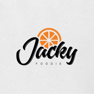 Grafisch ontwerp | Logo voor Jacky Foodie
