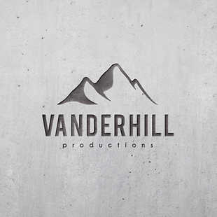 Grafisch ontwerp | Clean logo voor Vanderhill Productions