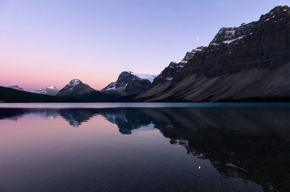 Bow Lake, BC, Canada