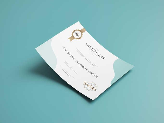 Certificaat design