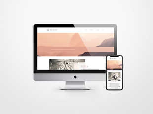 Webdesign voor Joie de Eve