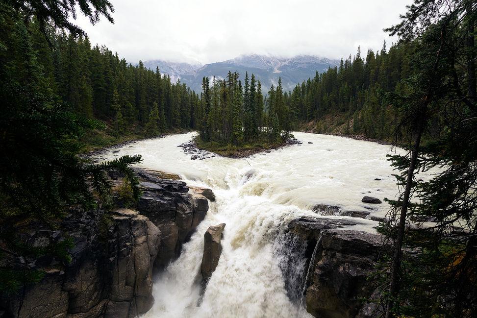 Sunwapta Falls, BC, Canada