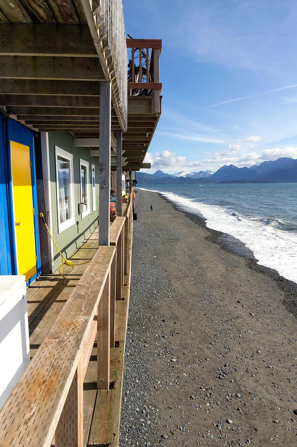 Homer Spit, Alaska, US