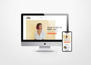 Webdesign voor Jacky Foodie