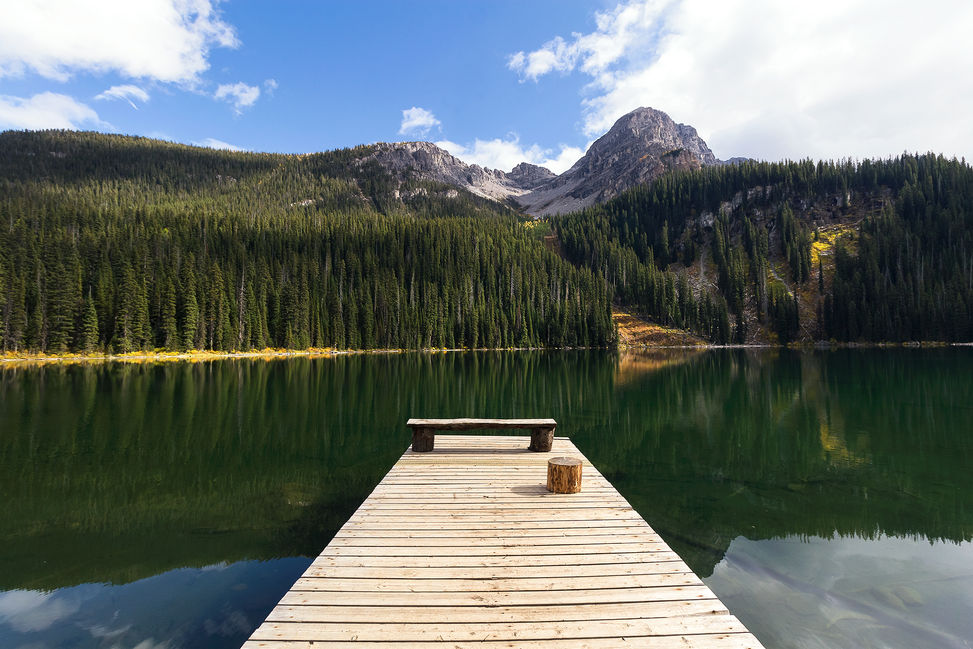 Fish Lake, Top of The World Provincial Park, BC, Canada