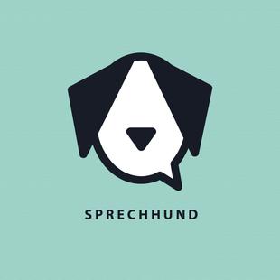 Grafisch ontwerp | Logo voor Sprechhund