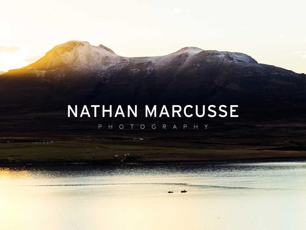 Grafisch ontwerp | Clean logo voor Nathan Marcusse