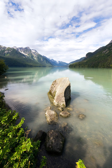 Chilkoot Lake, Alaska, US