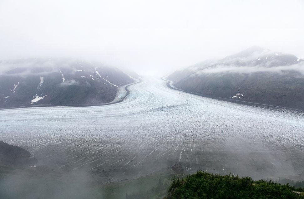 Salmon Glacier, Alaska, US