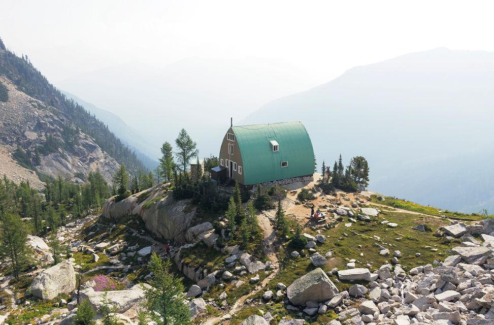 Conrad Kain Hut, Bugaboo Provincial Park, BC, Canada