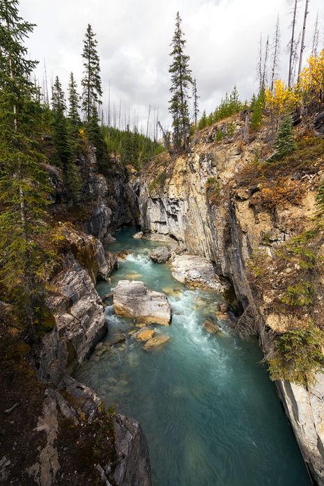 Marble Canyon, BC, Canada