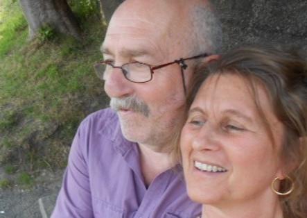 Samen met mijn geliefde vrouw