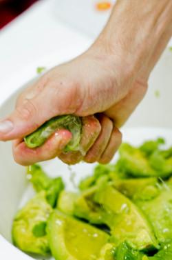 aula de culinária vegana