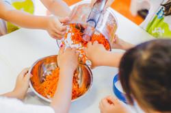 culinária com crianças
