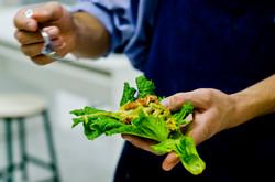 culinária vegana escola